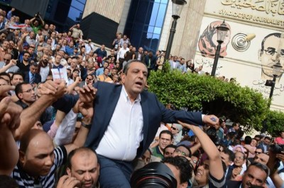 Egypt Journalists Union Chief Yehia Qallash Sentenced