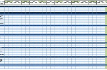 Excel Template Personal Budget