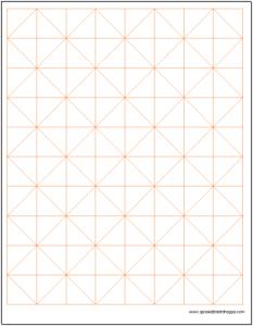 Axonometric Graph Paper