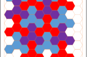 Hexagonal Tessellation Graph Paper Example