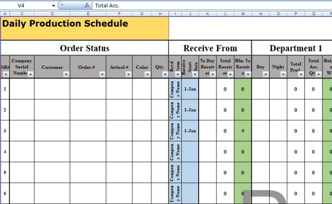 Free Recruitment Tracker Excel Template Spreadsheettemple