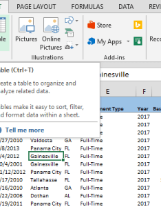 Begin by converting your data into excel tables clicking insert   table or pressing ctrl  automatically detects the entire range if also hot to combine from multiple sheets using power query rh spreadsheetweb
