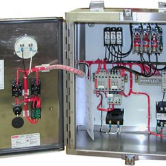 Contactor And Thermal Overload Relay Wiring Diagram For Lights Uk Sprecher + Schuh Combination Starter Custom Control Panel