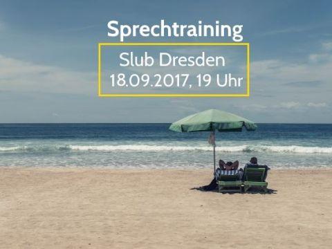Sprechtraining im September<br>Mein Sommer 14
