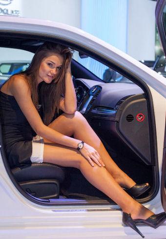 Hotesses Sexy Salon Auto Geneve 2016 photos