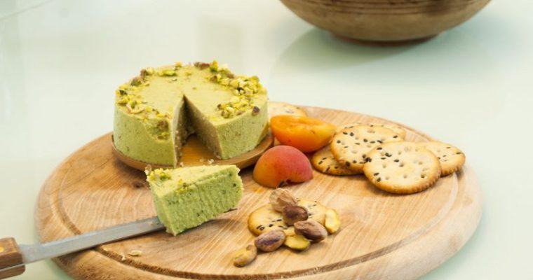 pistachios_Vegan_cheese/веган сирене с шамфъстък