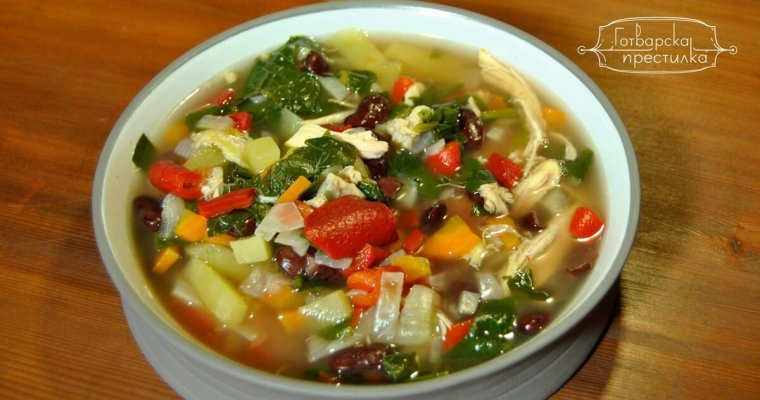 Тосканска пилешка супа