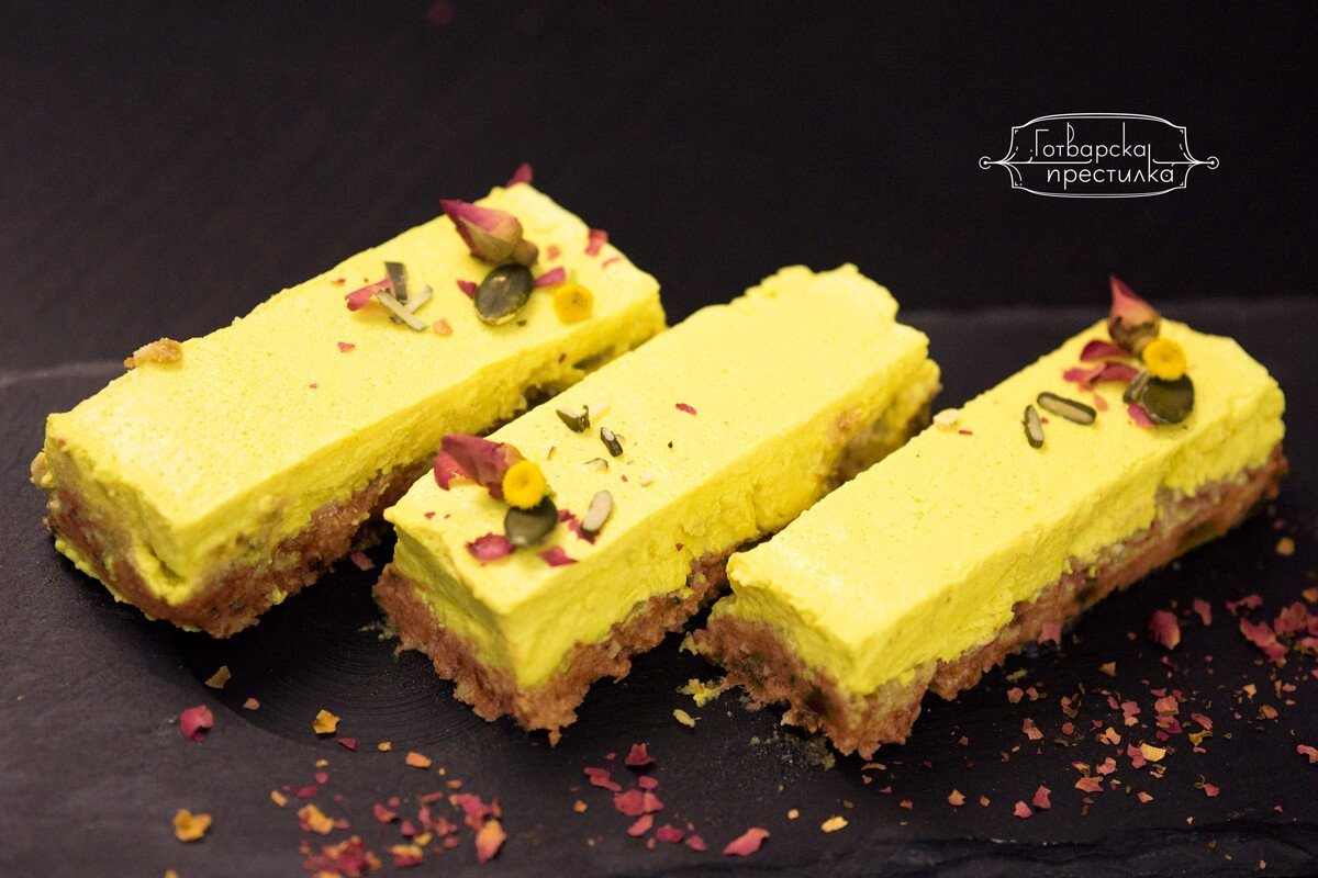 Рецепта за свеж лимонов веган десерт