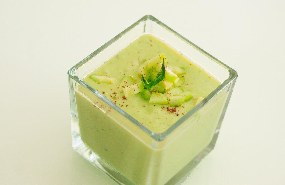 Студена крем супа от авокадо
