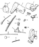 MG Midget Austin Healy Sprite COMPONENTS,WIPERS