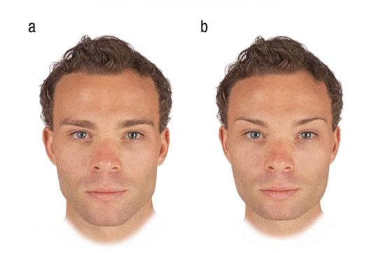 masc fem Kadınlar için En çekici erkek yüzü