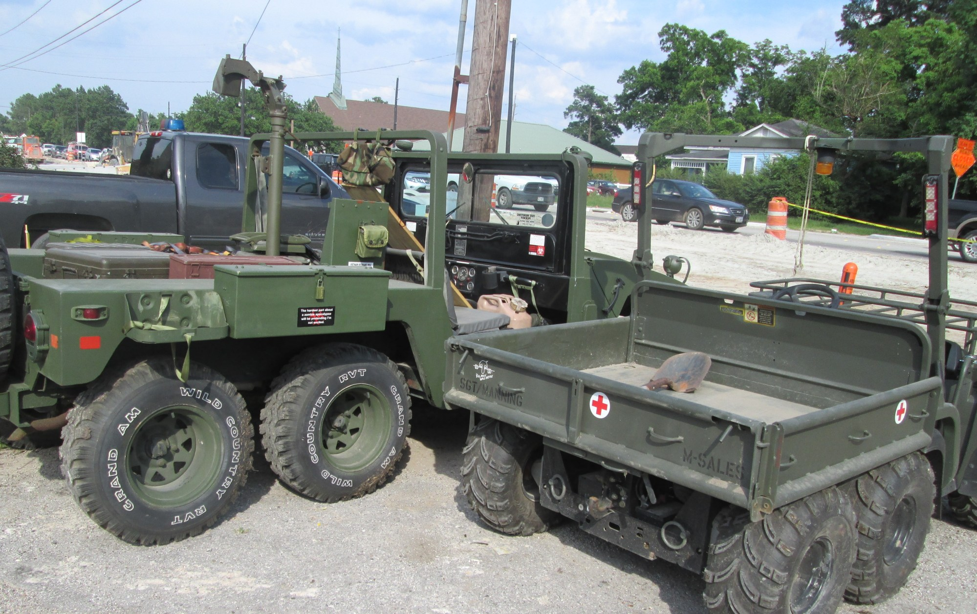 hight resolution of restored as used by owner in viet nam with radios can be mounted with a variety of different non guns propane guns or live weapons 1984 m1010 ambulance