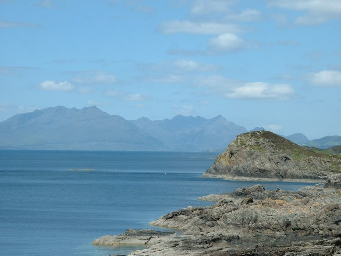 The Cuillins from Sleat Point