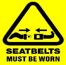 OSHA HSE worksafe safety Springbelt seat belt for mining earth moving forklift fork hoist frok