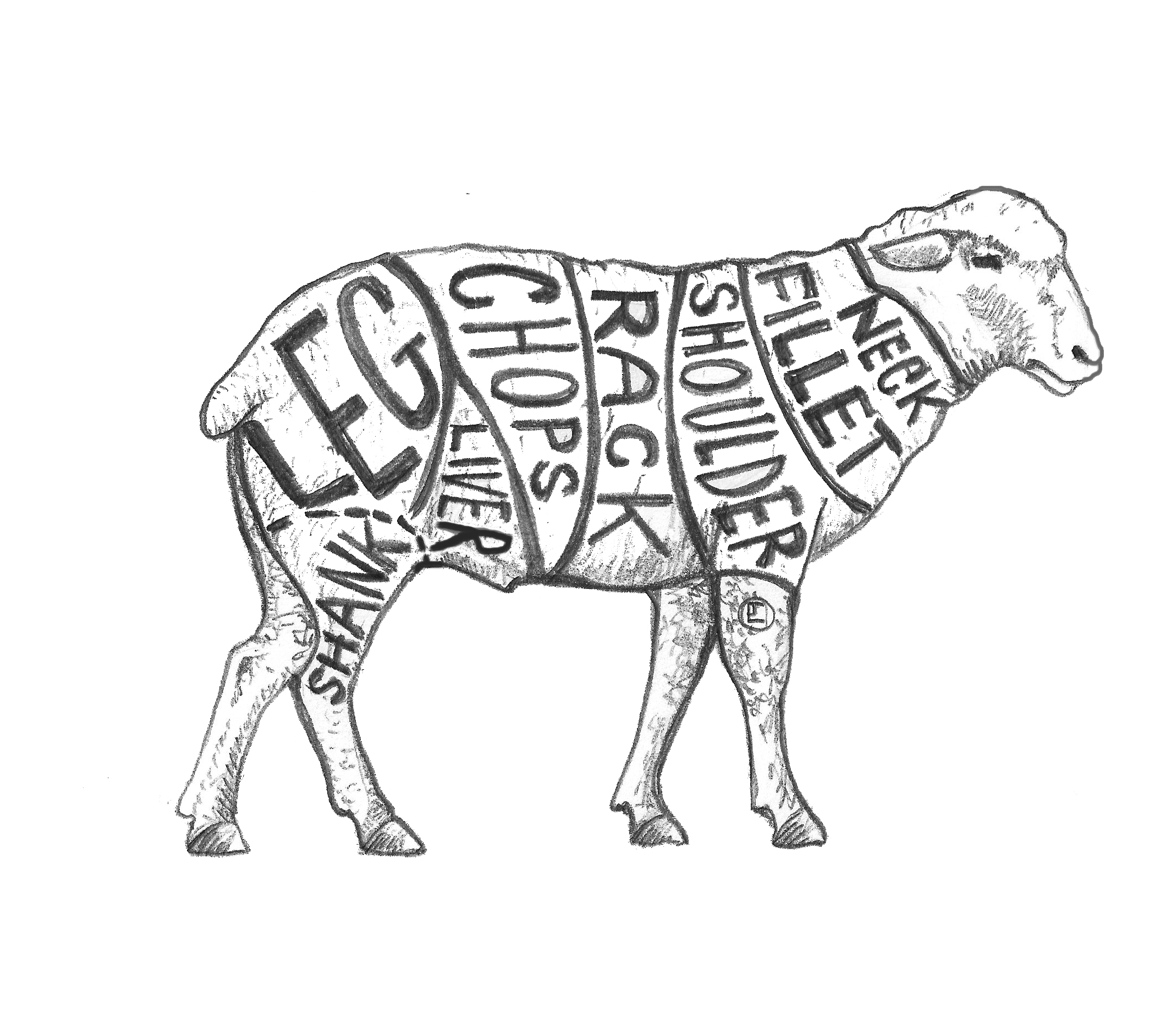 Heritage Lamb Whole Pick Up At Butcher