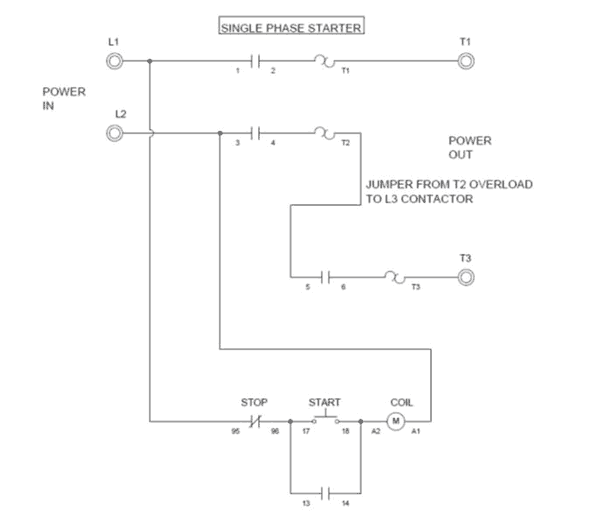 3 Phase Soft Starter Circuit Diagram