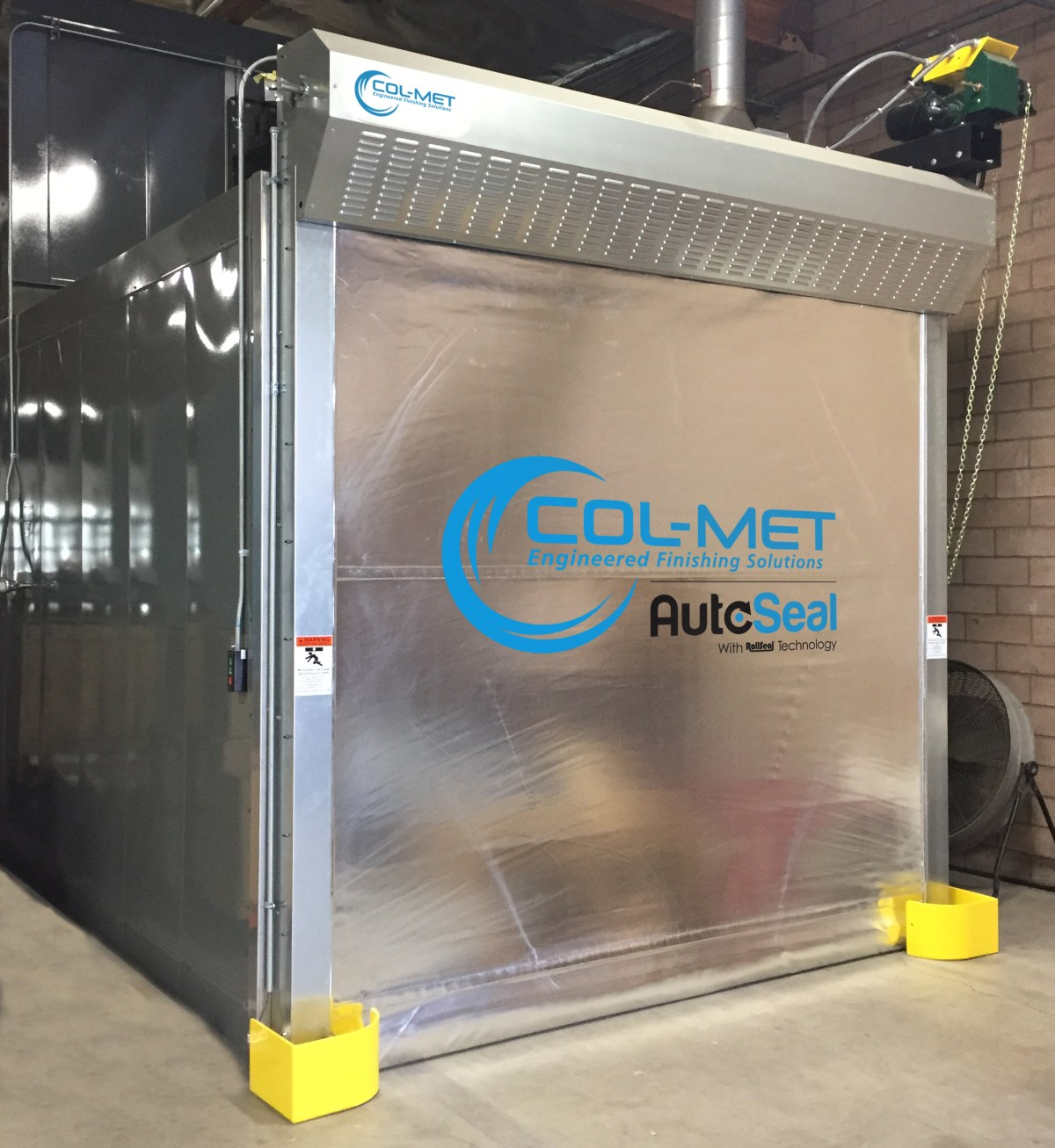 AutoSeal Batch Oven Roll Up Door From Col-Met