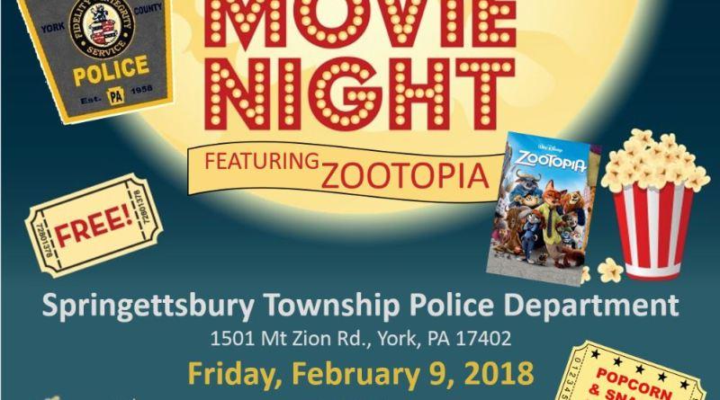 STPD Family Movie Night