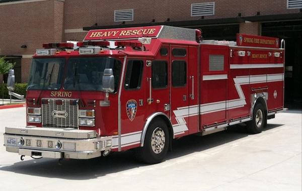 E-One Rescue Truck - Rescue 71