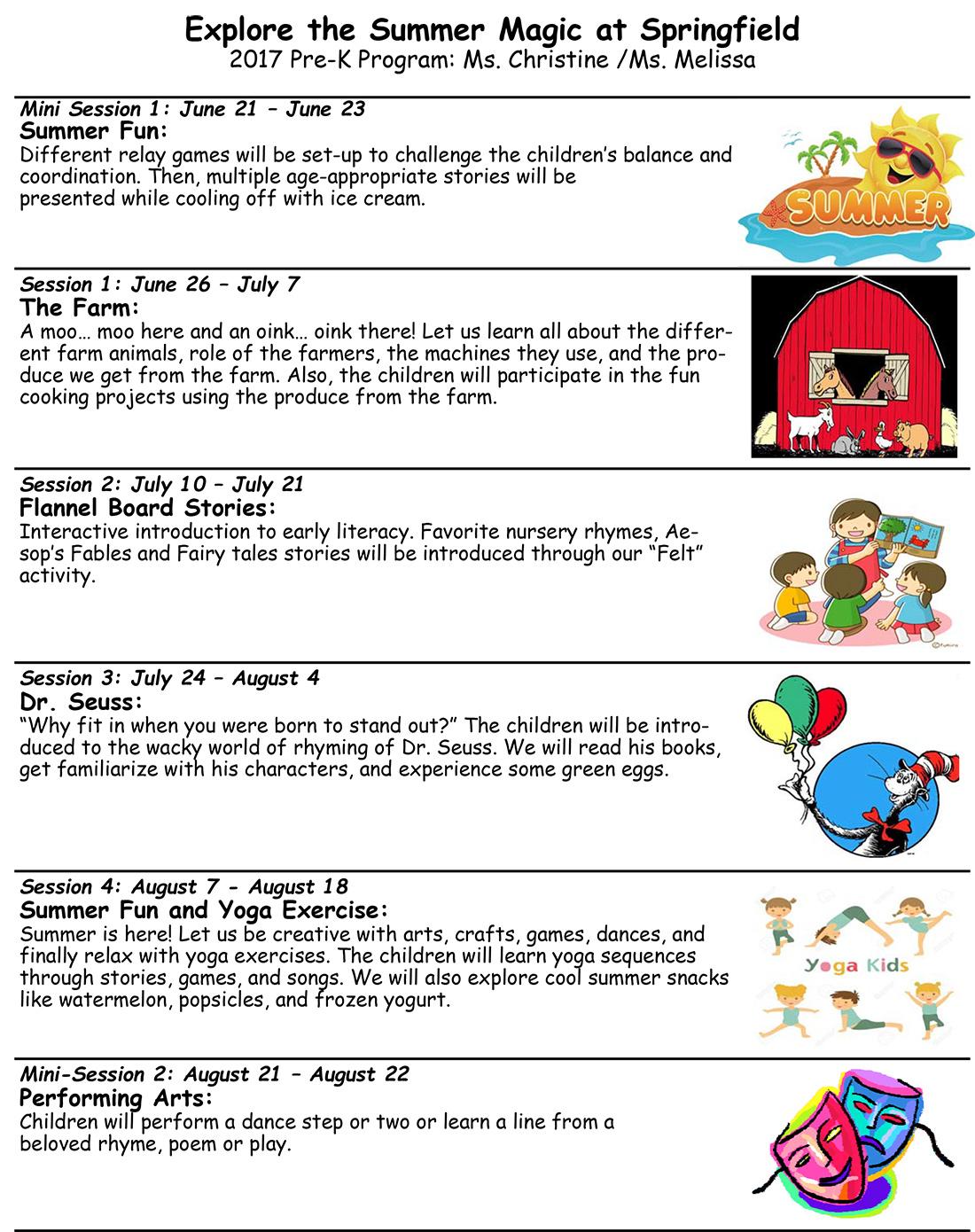 Summer Nursery Rhymes