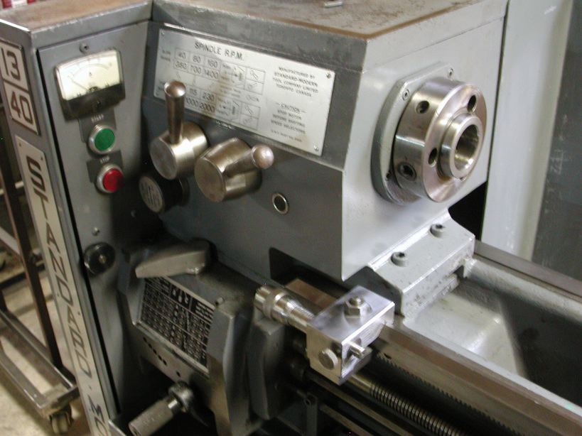 Modern Lathe Machine Parts