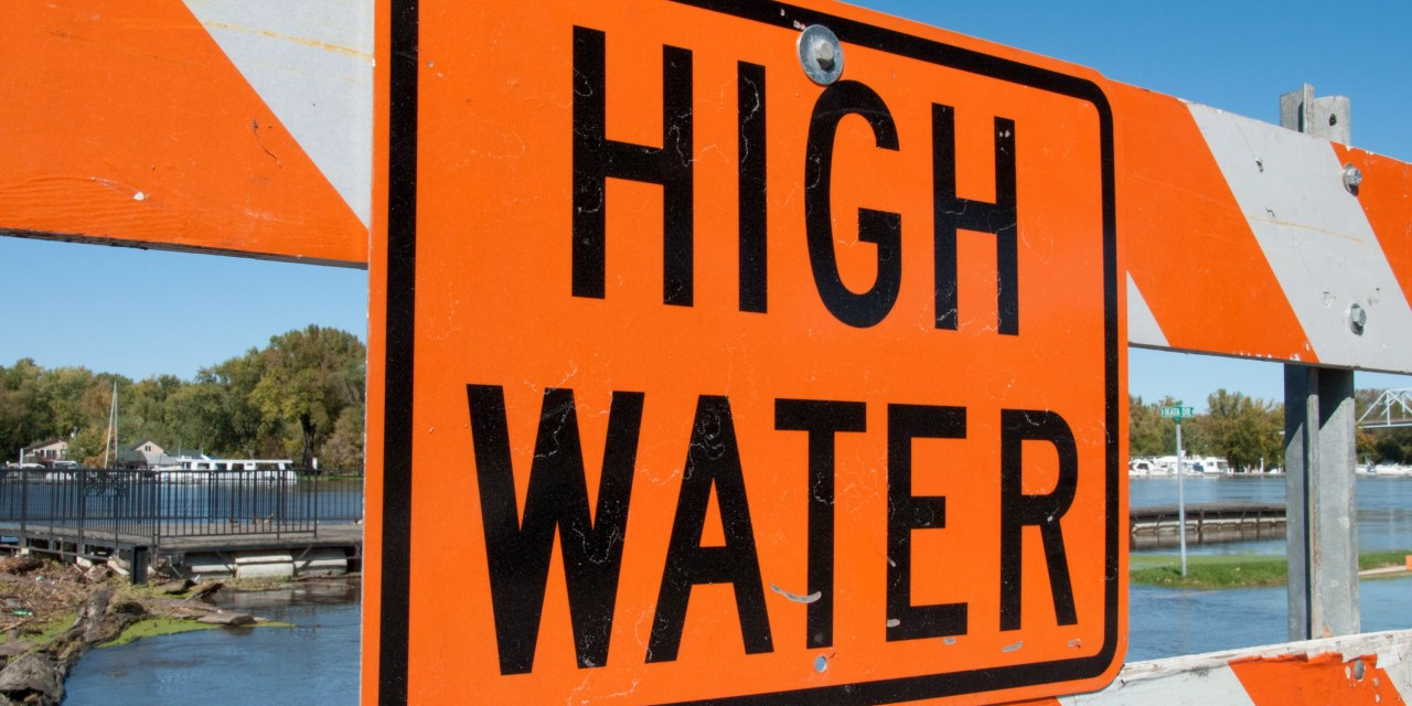 Reported High Water Locations & Traffic Hazards; September 19, 2019