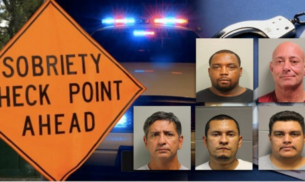 (5) Arrested By Constables During Memorial Day DWI Initiative