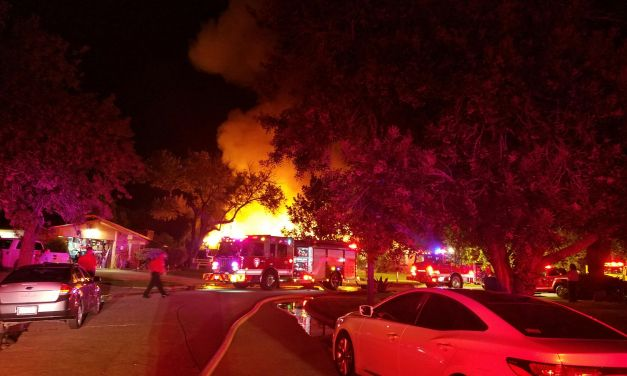 Firefighter Injured Battling House Fire in Cypressdale