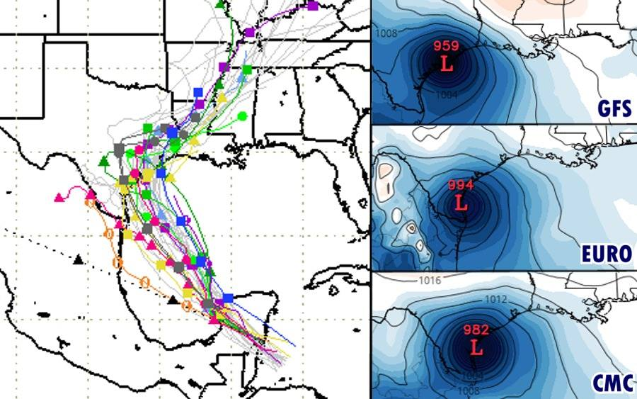 Tropical Storm Harvey May Reform, Potential Impact To Texas Coast