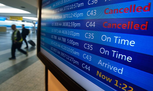 Flight Cancellations Rising By The Hour Due To Icy Conditions