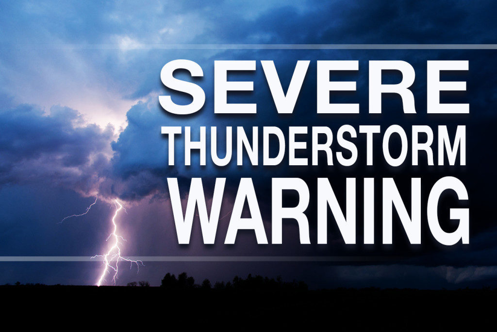 severe thunderstorm warning issued for montgomery county