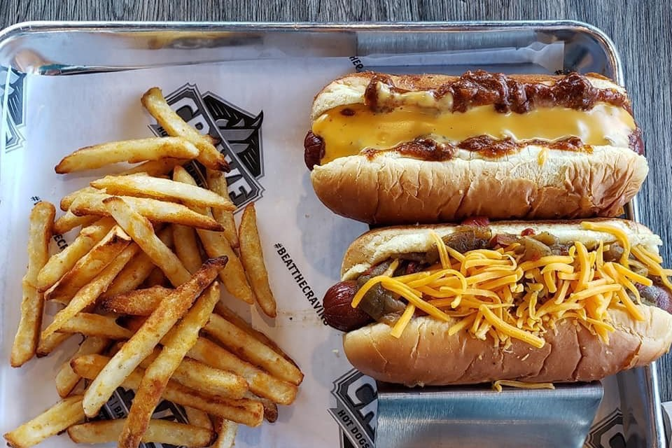 Free Hot Dogs to First 100 Customers at Crave Hot Dogs & Barbecue Grand Opening Event