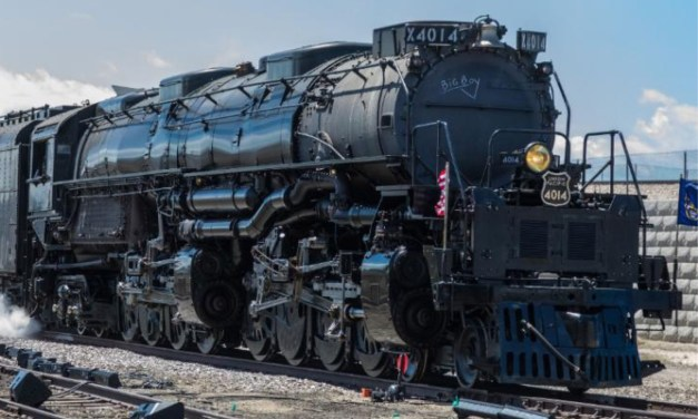 Union Pacific's Big Boy 4014 Steam Train To Stop In Spring on Friday