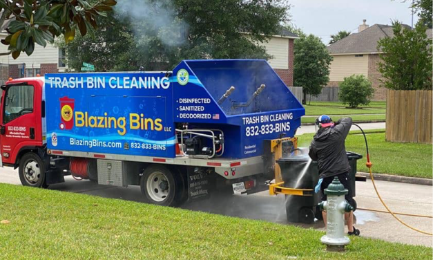 Veteran-Owned Trash Bin Cleaning Company Helps Disinfect During The COVID-19 Pandemic