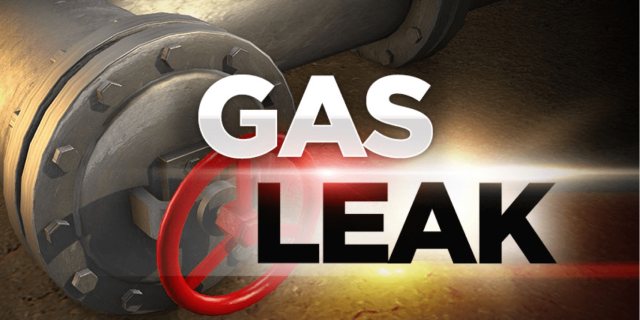 W Riley Fuzzel Road Closed After Construction Company Hits Gas Line