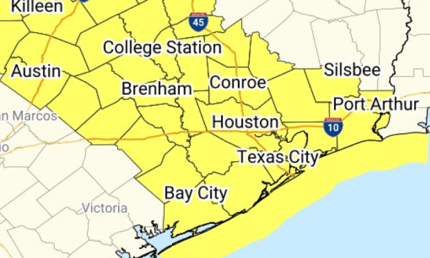 "Severe Thunderstorm Watch Issued; Widespread Hail Up To ""Apple-Size"" Likely Per NWS"