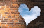 breaking walls heart