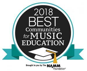 2018 Best Communities for Music Education