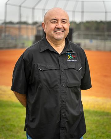 Spring ISD Assistant Director of Athletics Armando Jacinto