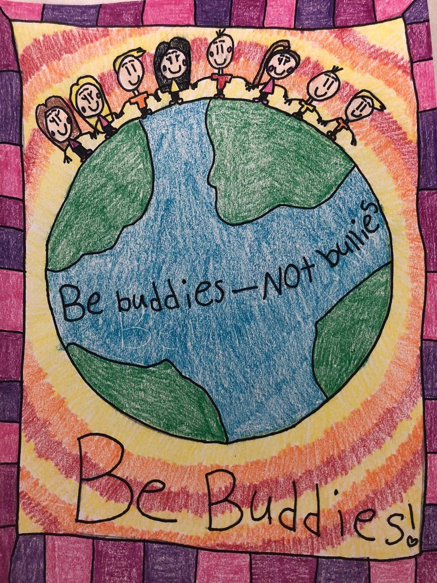 Be Buddies by Clarissa Lopez, Winship Elementary