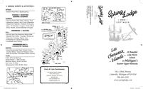 Spring Lodge Brochure