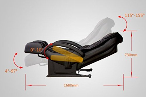 massage chair bed black farmhouse table and chairs 13 best recliner reviews 2019 amazon buyer guide new full body shiatsu ec 69
