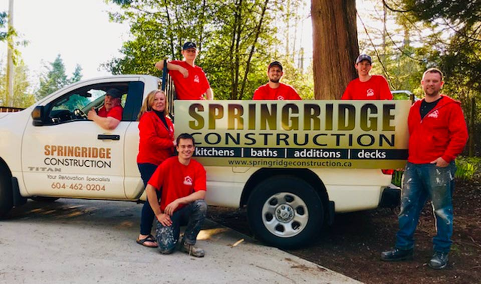 About Us  Springridge Construction
