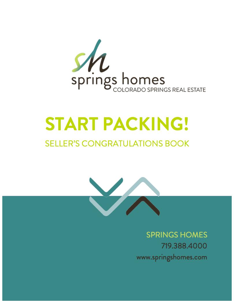 Start Packing Seller Congratulations Book