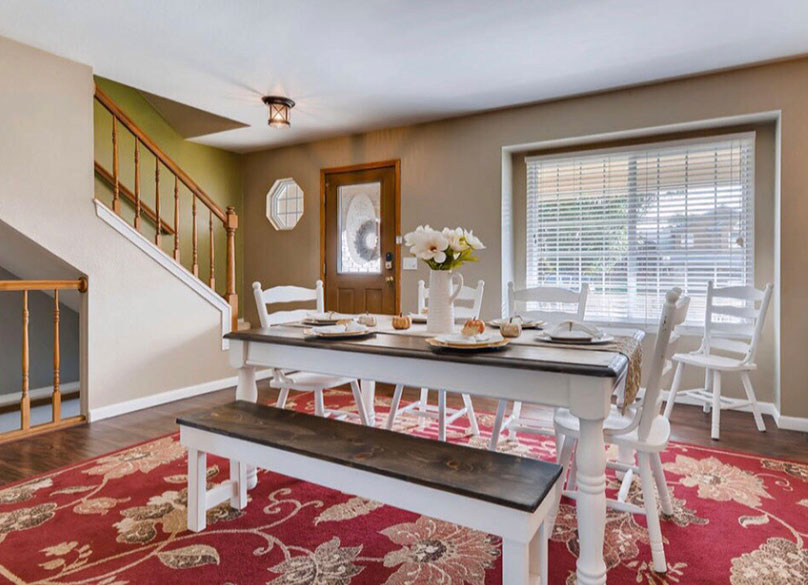 Staging a Home for Quick Sale After Living Room