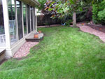 Flagstone and clean up - Colorado Springs Landscaping