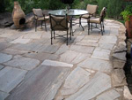 Colorado Springs Flagstone patio