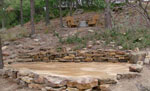 dry creek bed - colorado springs landscaping