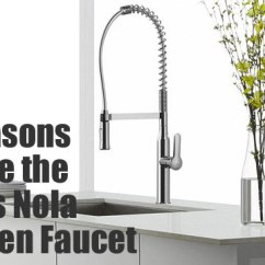 Coiled Kitchen Faucet Full Cabinets 3 Reasons To Like The Kraus Nola Faucet...