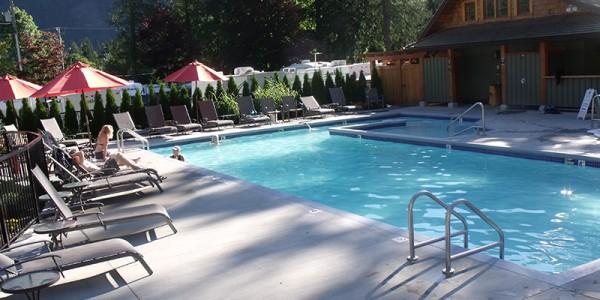 Harrison Hot Springs RV Resort  RV Lots for Sale RV Lot Rentals  Springs RV Resort